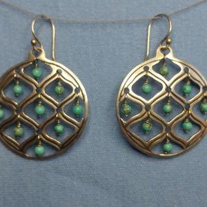 Silpada Sterling Silver & Turquoise Earrings